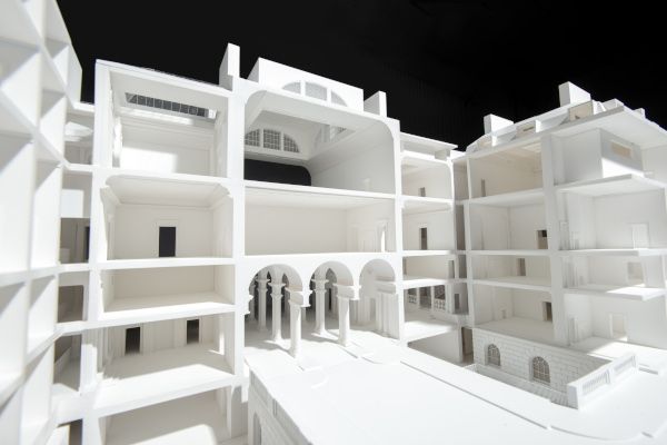 Base Model of Somerset House